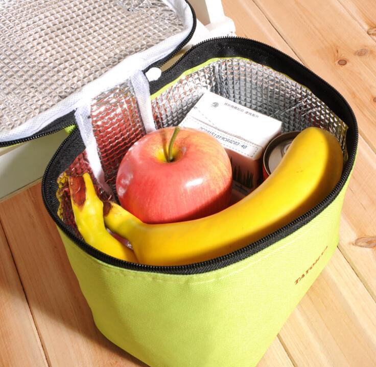 Oxford Ice Pack Shoulder Cooler Backpack School Lunch Bag