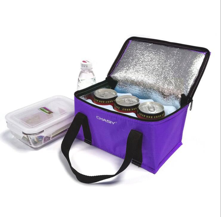 Customized Insulated Non Woven Lunch Cooler Bag Ice Bag
