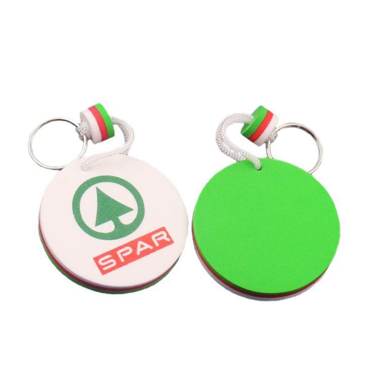 Souvenir Gift EVA Key Chain Logo Key Tag for Promotional