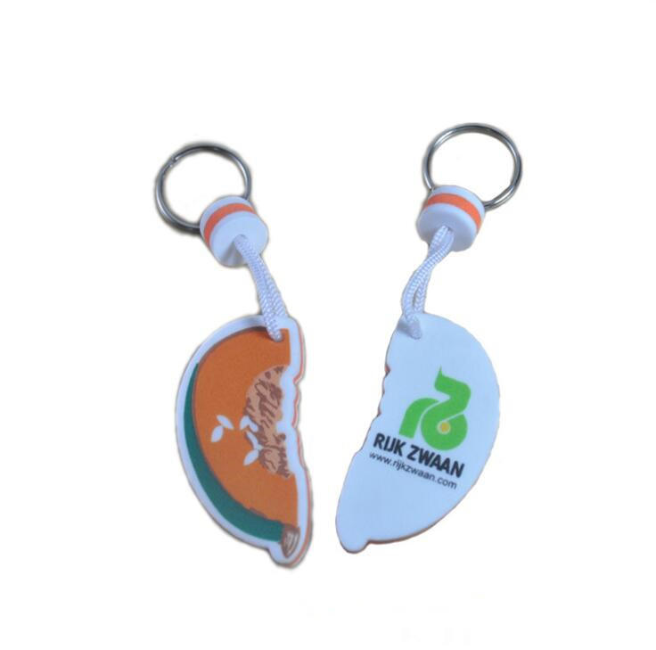 Keyring Factory Custom Made Bulk Low Price Eva Foam Floating Keychain