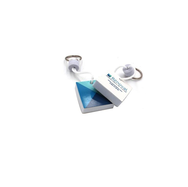EVA Keyring with Customized Shape and Logo