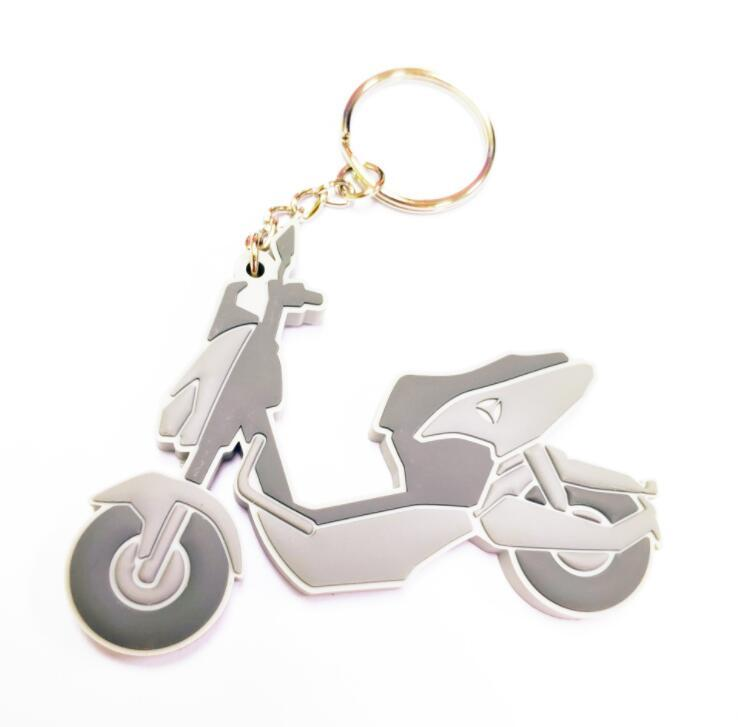 Promotional Gifts PVC Rubber Logo Key Ring