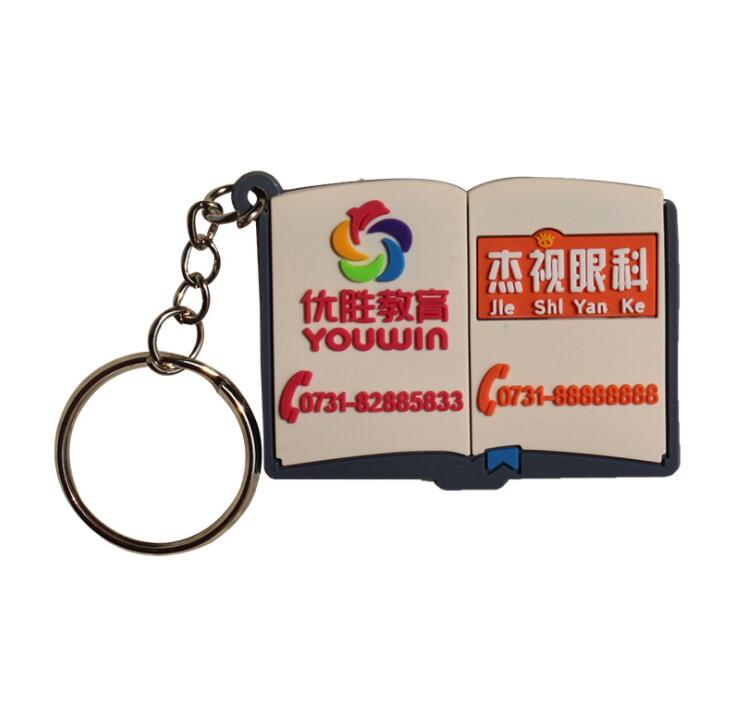 East Promotions soft pvc custom keyrings manufacturer for decoration-1