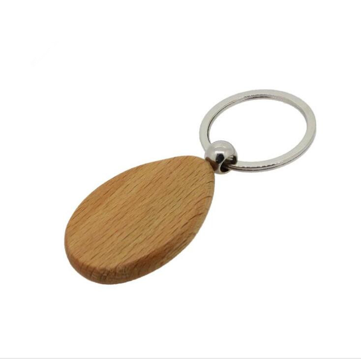 practical wood engraved keychain company for gift-1