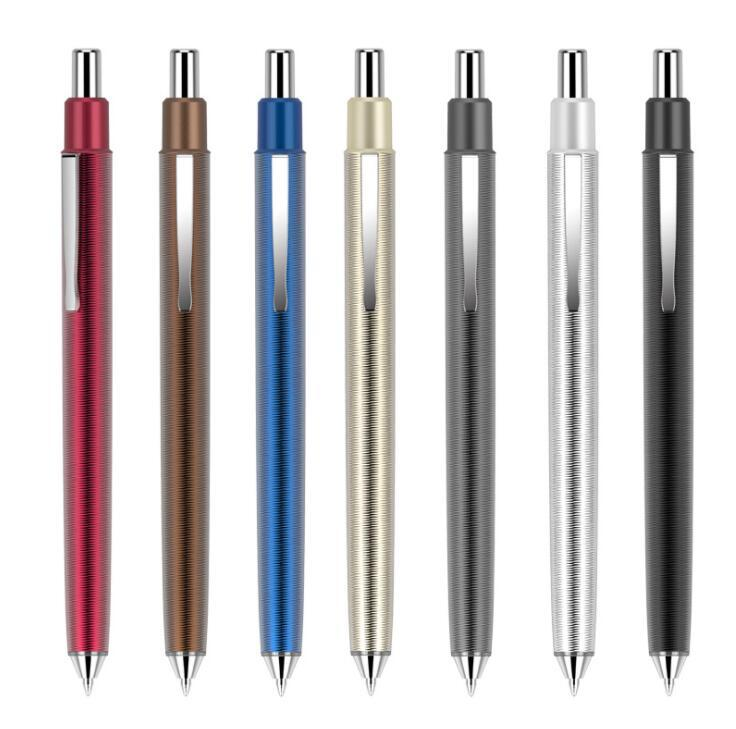 High Quality Metal Pen with Swirl Marks