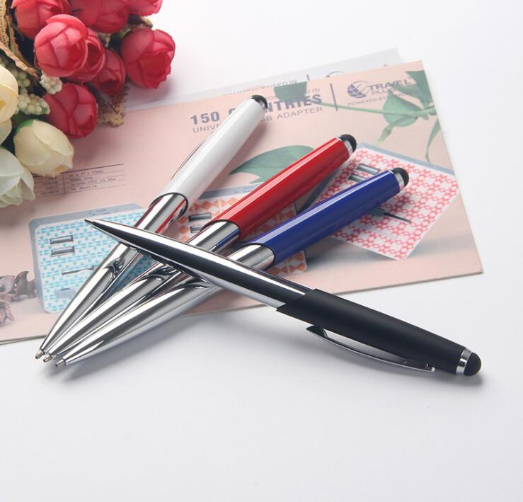 High End Metal Stylus Touch Screen Ball Pen With Logo