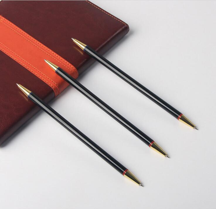Double End Two Head Metal Pen With Two Colors