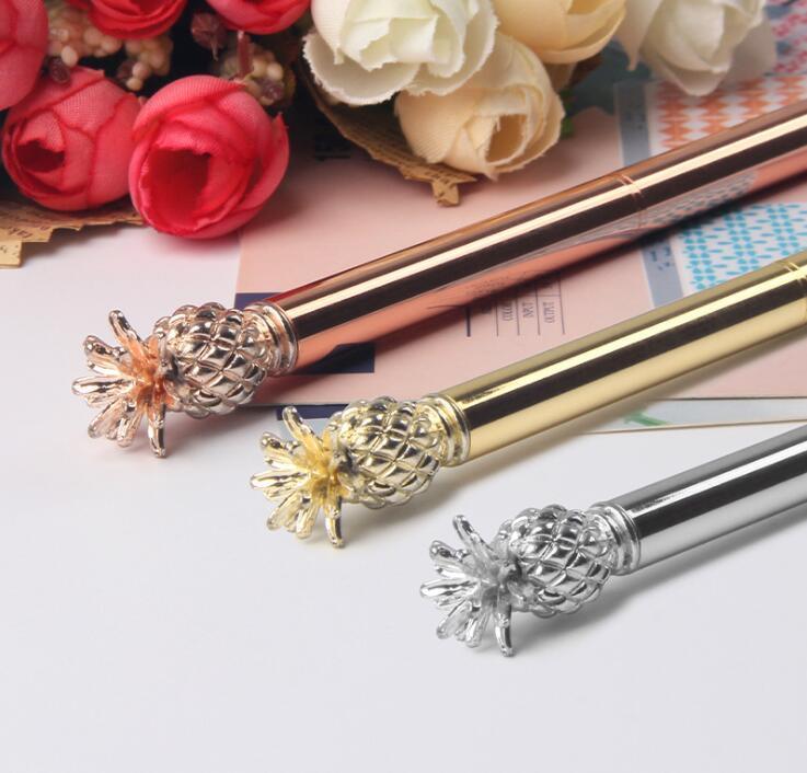 Pineapple Metal Ballpoint Pen with Customized Logo