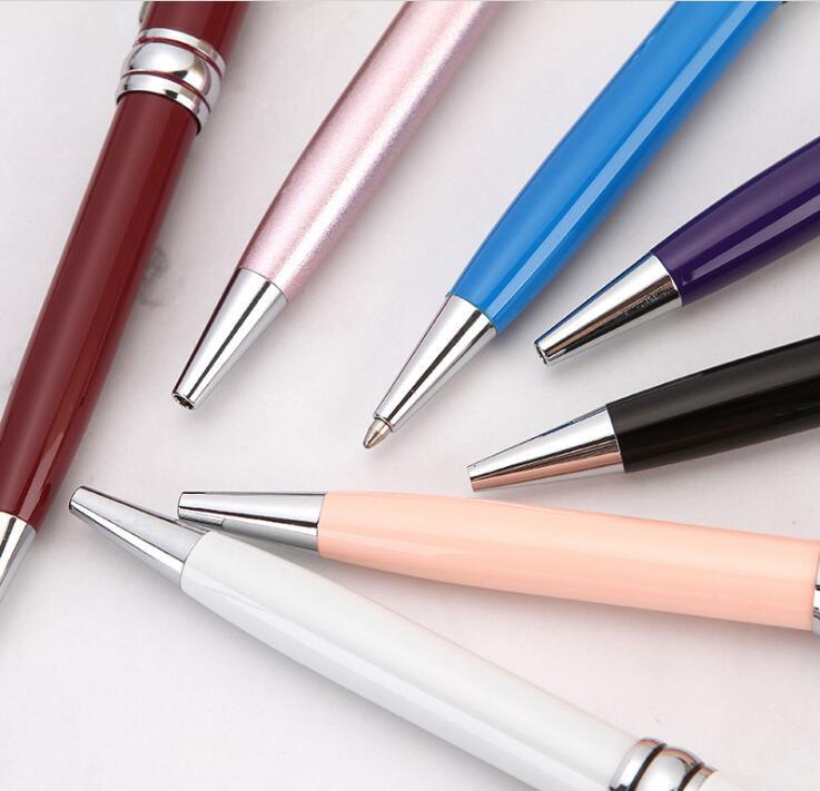 Promotional Advertising Custom Logo Ball Pen  Stationery Metal Pen