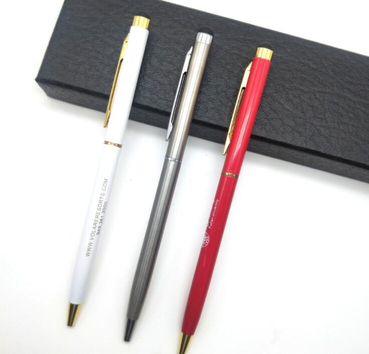 High Sensitive Metal Torch Stylus Touch Screen Pen for Office