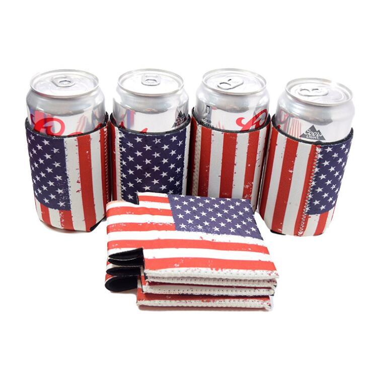 Personalized Custom Printed Insulated Neoprene Beer Stubby Can Cooler Holder