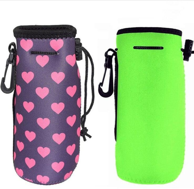 Cheap Promotional  Water Bottle with Neoprene Cover