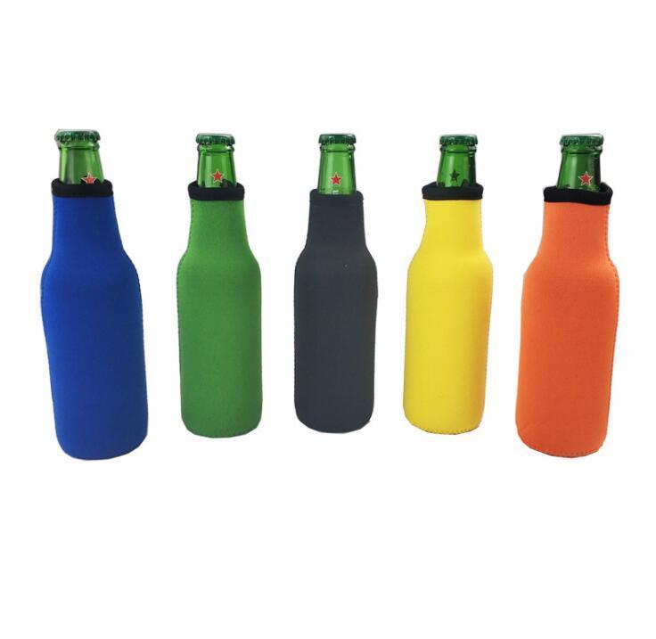 Custom Neoprene Insulated Beer Beverage Bottle Sleeves Bag Drink Koozie Cooler