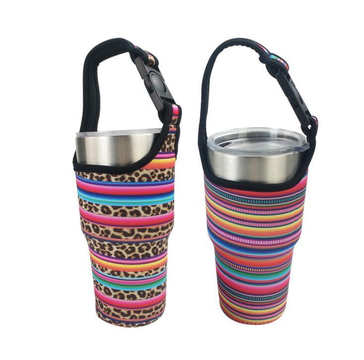30oz stainless steel tumbler cup holder Neoprene Bottle Cooler