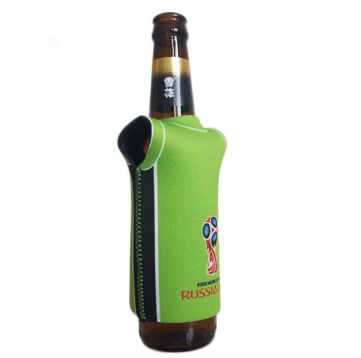 T-Shirt Neoprene Bottle Cooler for World Cup Promotion
