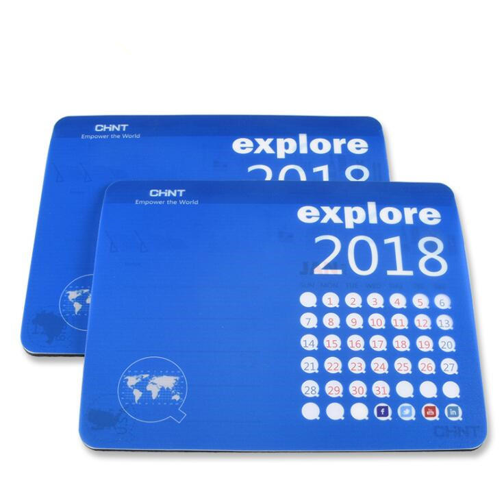 Customized Promotion Mouse Pad with Paper Calendar