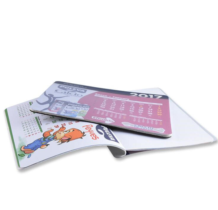 2020 Mouse Pad Calendar With Full Color Printing