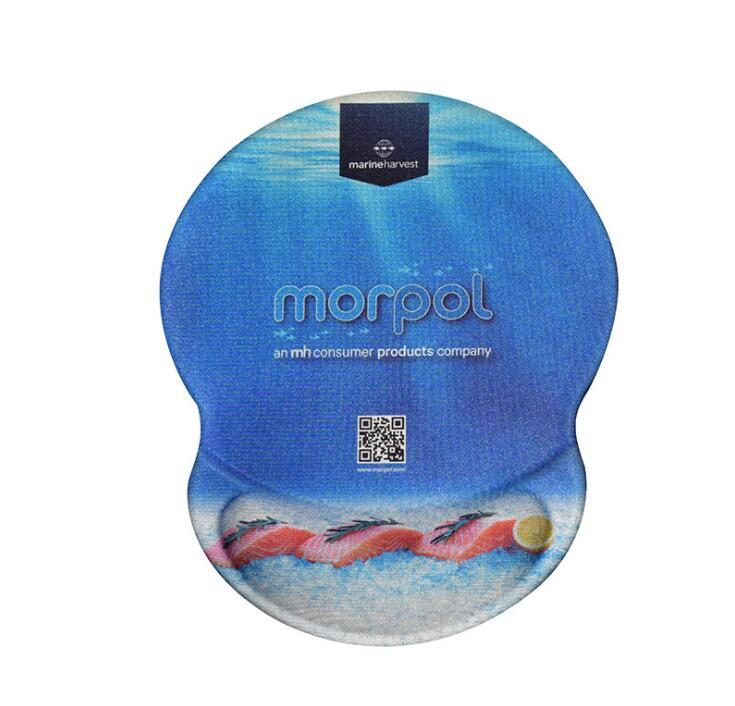 OEM Promotional Mouse Pad With Wrist Rest