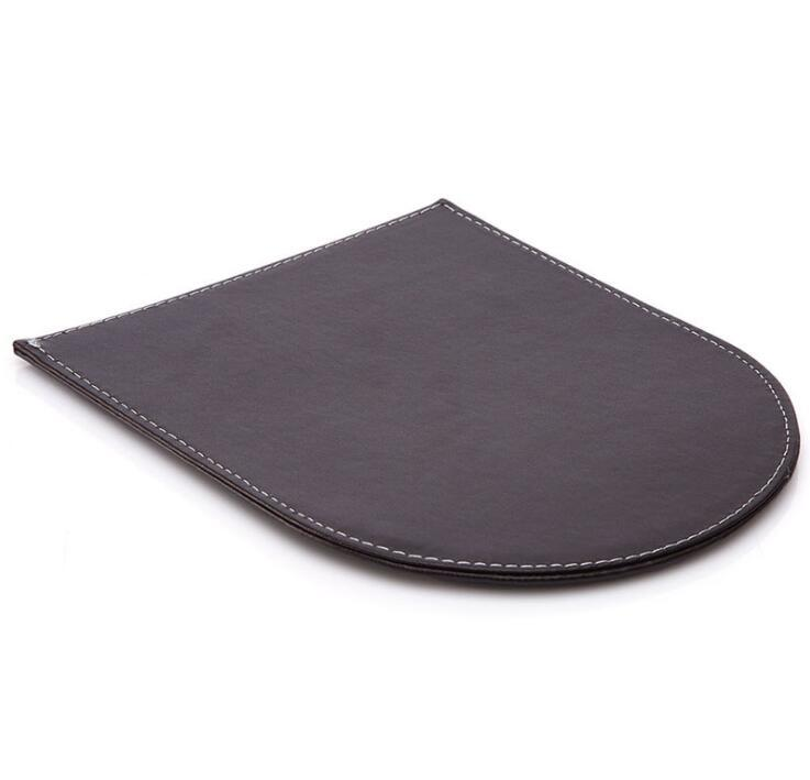 PU Leather Mouse Pad with Wrist Rest / Promotional Gift Mouse Pad