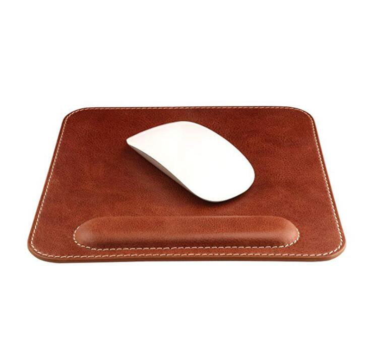 Customized Design PU Leather Mouse pad for Office