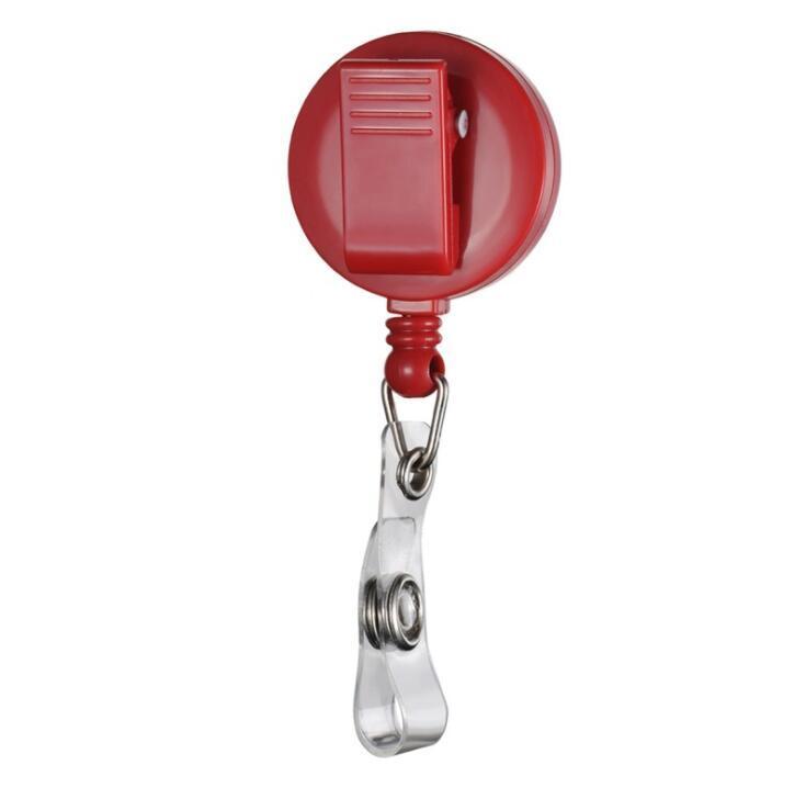 Custom Logo Epoxy Plastic Retracable Pull Badge Reel