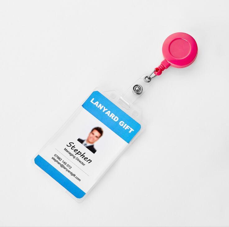 Custom ID Card Holder Badge Reels Yoyo for Company