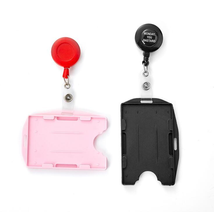 Custom ID Card Holder Badge Reels Yoyo for Company