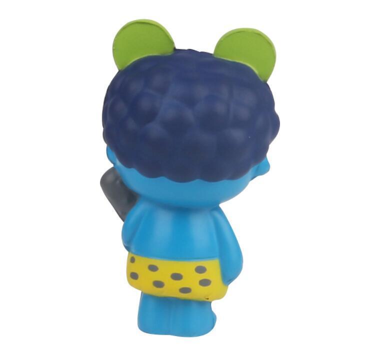 Customization PU Mascot cartoon doll Shape Stress Toy