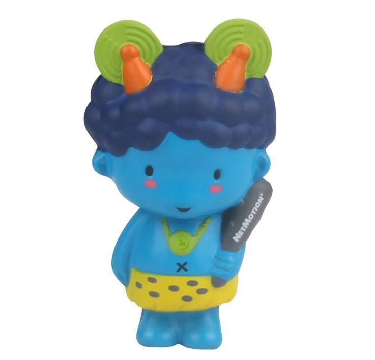 Customization PU Mascot cartoon doll Shape Stress Toy