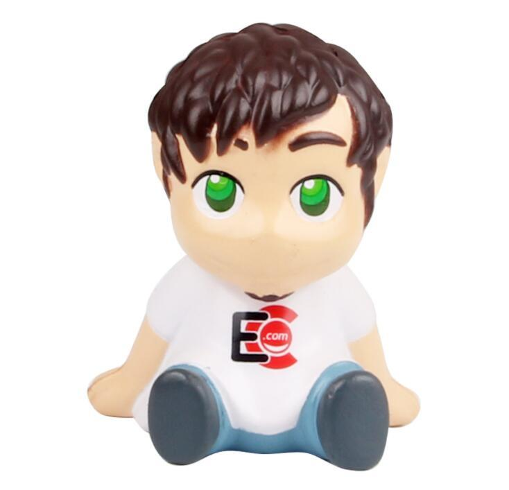 China Supply Boy Shape Pu Anti Stress Toy for Promotional Gifts