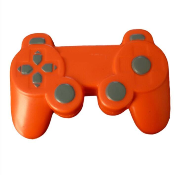 Gamepad Shape PU Anti Stress Ball Toy with Keyring