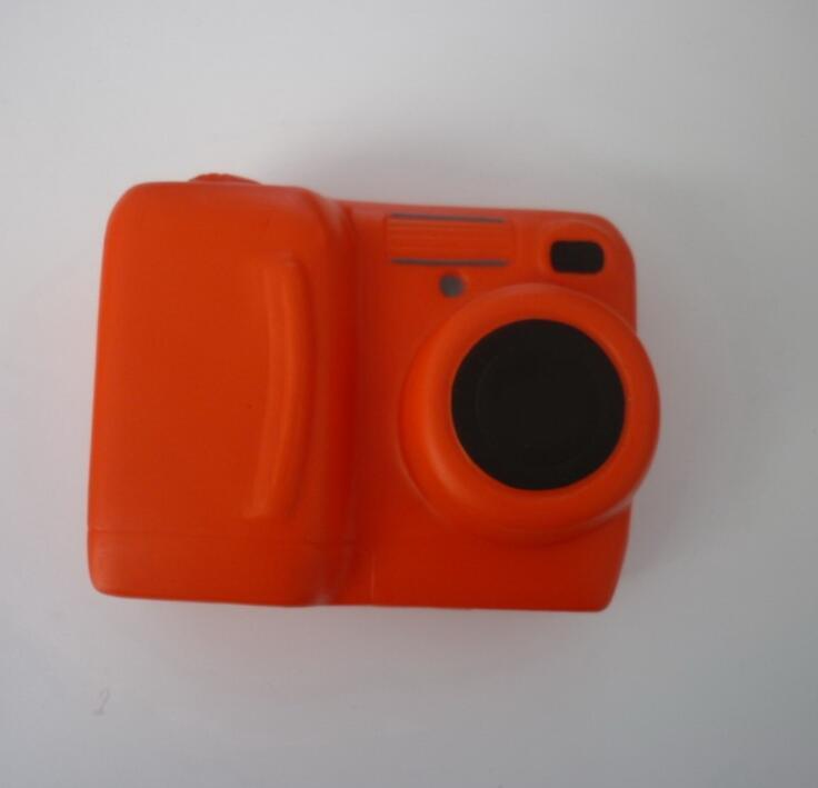 Camera Shape PU Foam Promotional Toy Stress Ball