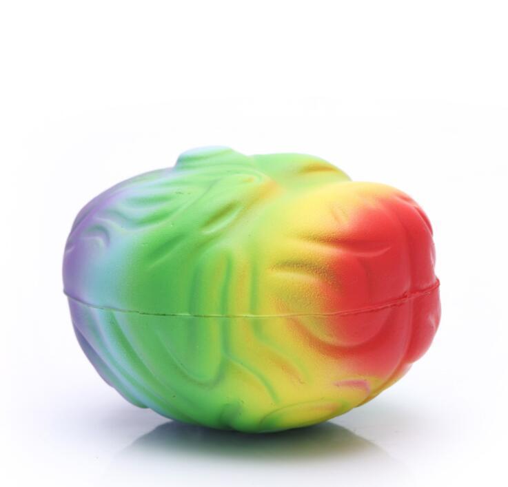 Wholesale PU Stress Brain Design Stress Toys