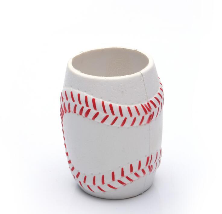 Eco-Friendly Pu Foam Baseball Cup Set Can Cooler Holder