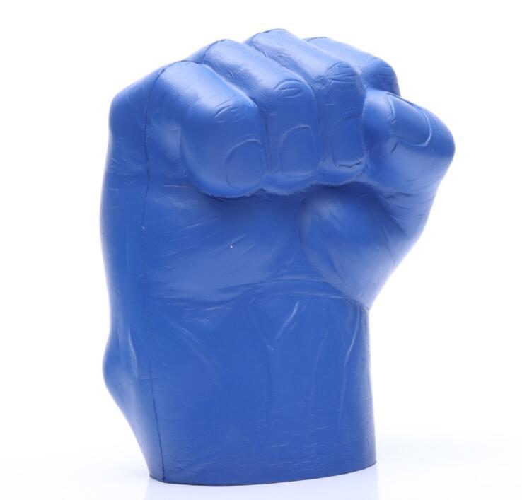 Giant PU Foam Fist Hand Can Cooler-Left Hand Hulk Foam Fist Drink Holder