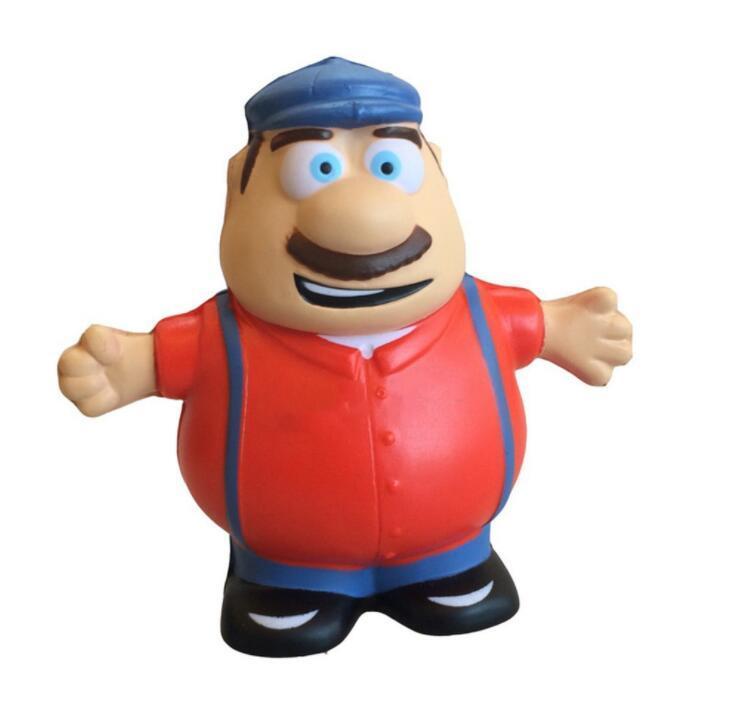 Promotional Man Shape PU Stress Ball Manufacture