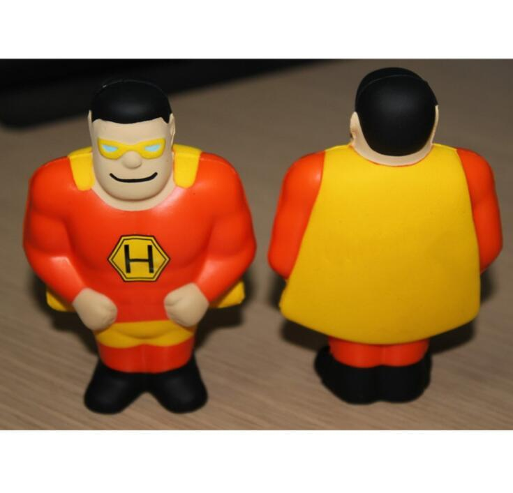 Promotion Gift Superman Shape Stress Ball
