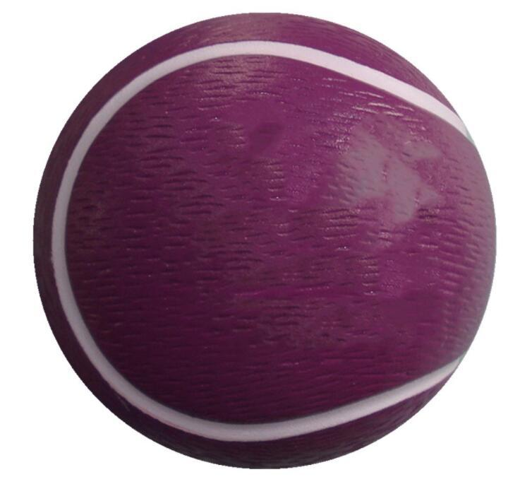 Custom Logo Promotion 7cm Tennis Shape PU Stress Ball
