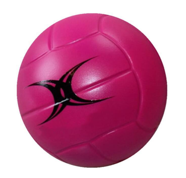 Volleyball Shaped PU Foam Anti Stress Ball with Custom Logo