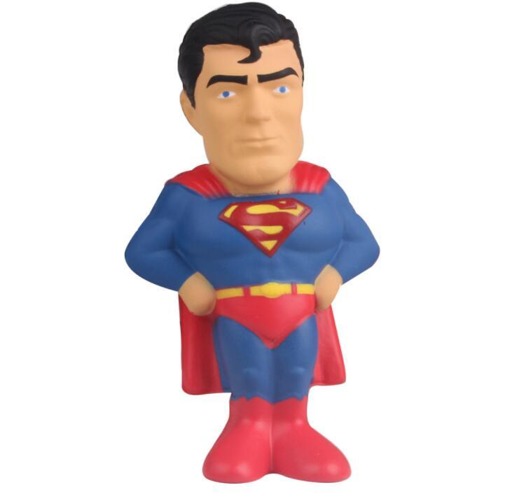 Promotional PU Foam Soft superman Stress Toys