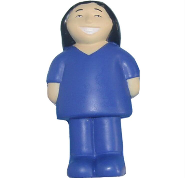 Health Care Gift PU Nurse Model Stress Ball