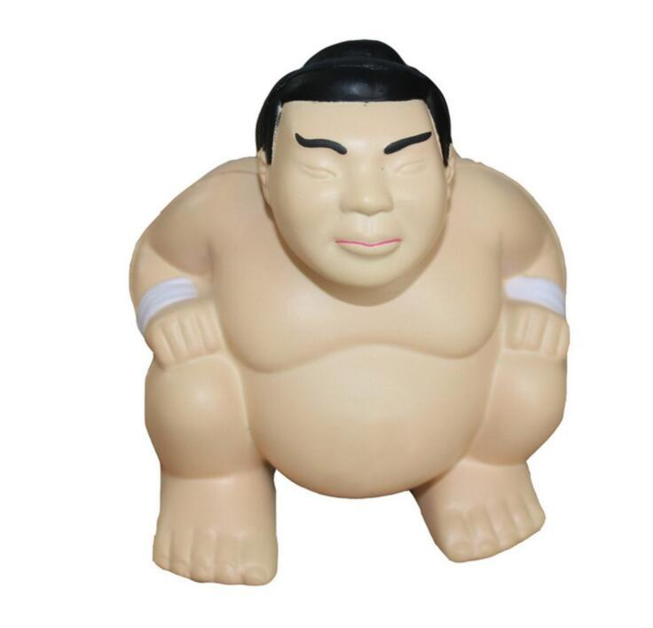 Japan Sumo Wrestler Pu Toys for Promotional Pu Anti Stress Toys