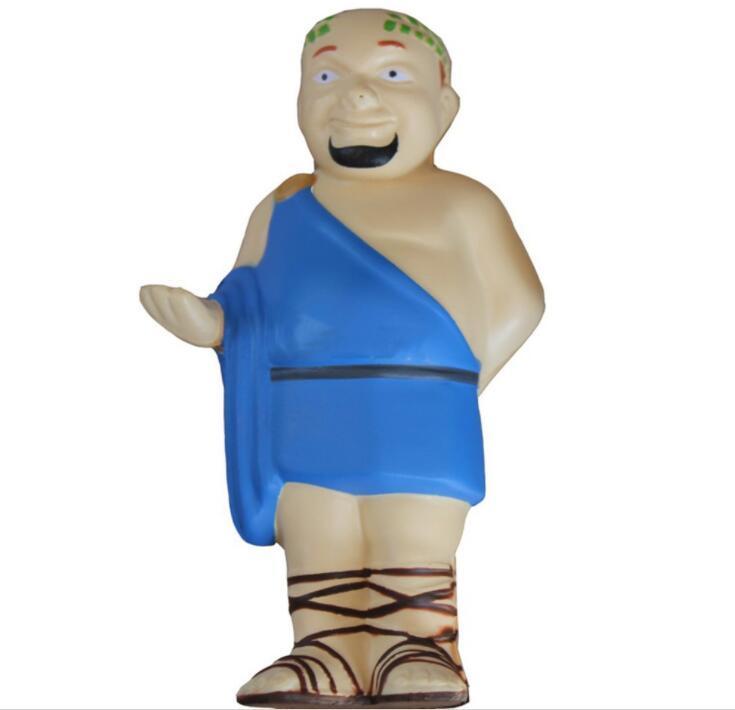 Low MOQ PU Anti-stress Toy Monk Shape