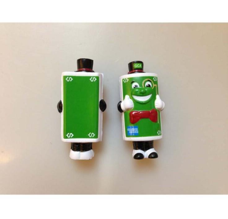 Stress Toy Cartoon Character Battery Design with Custom Logo