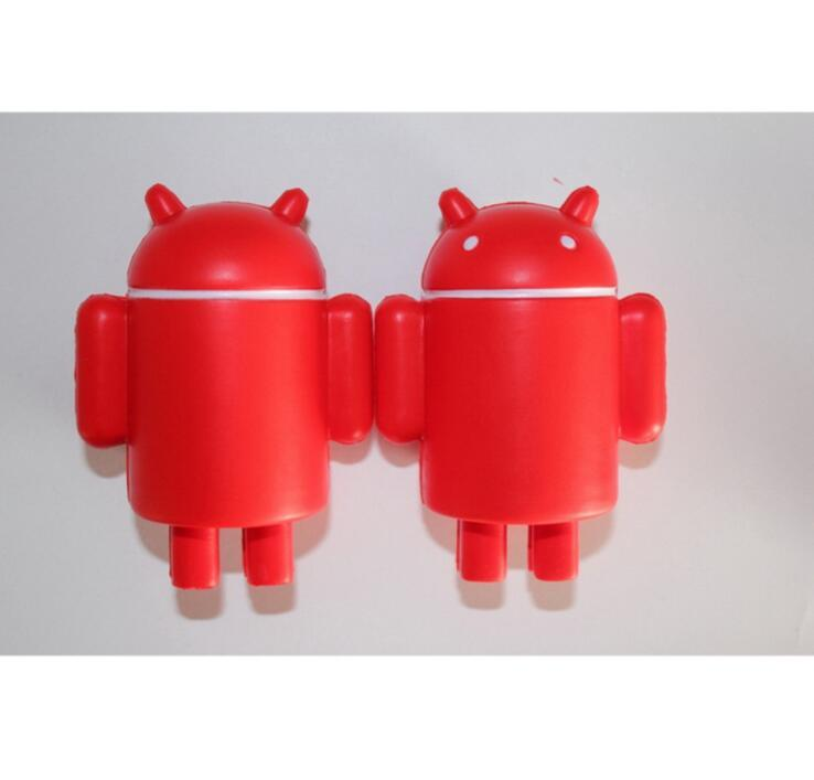 Android Robot Shape PU Anti-Stress Toys for Promotional Gifts