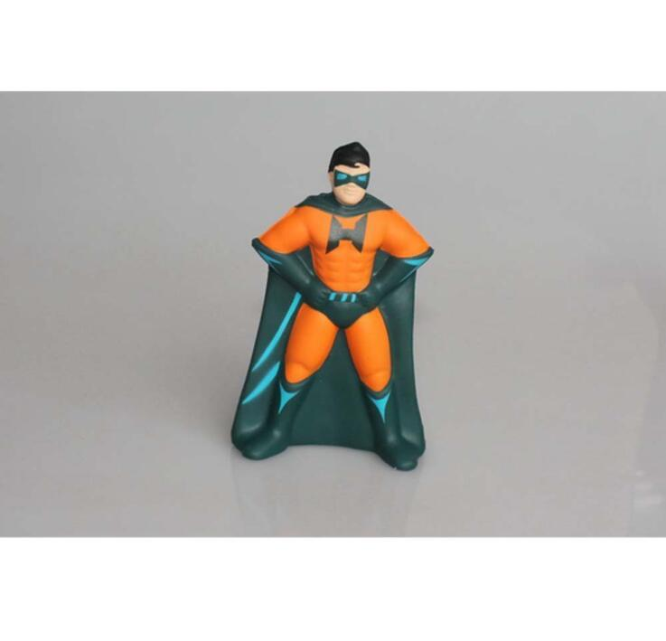 China Factory Supply PU Superman Stress Ball Toy
