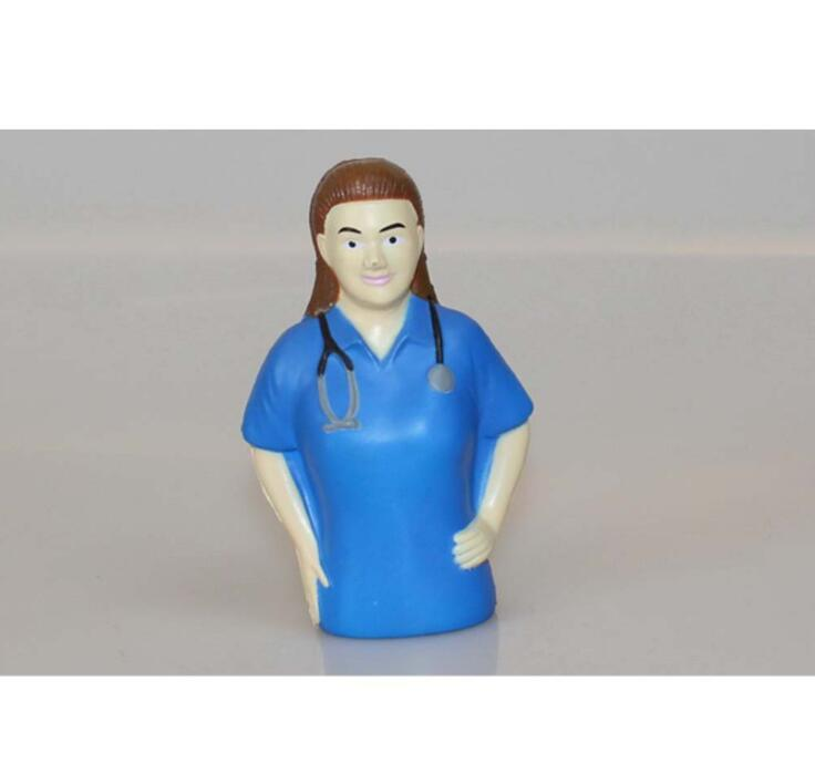 Doctor Shape Promotional PU Stress Reliever Toy