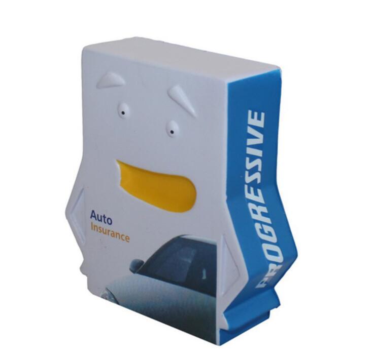 PU Book Shape Stress Toy With Customization Logo