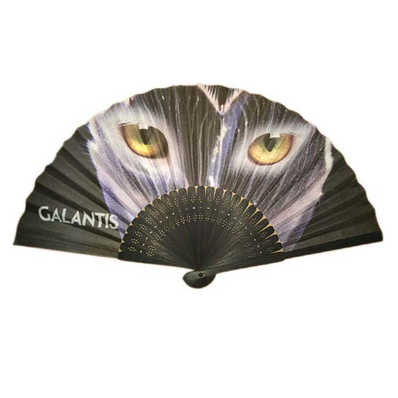 Advertising Folding Hand Bamboo Fans for Summer Promotion