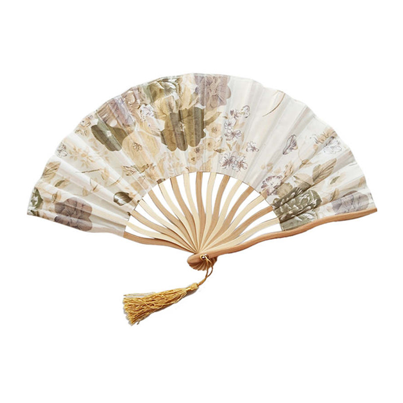 East Promotions low-cost blank hand fans from China for decoration-1